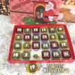 Cocoapod Chocolate Christmas Advent Calendar with 3D picture