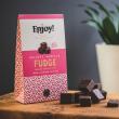 Organic Vegan Vanilla Chocolate Fudge