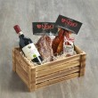 Calabrian Salami Hamper with Organic Red Wine