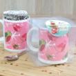 Pink Robins Chocolate Mug Cake Gift Set
