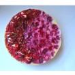 Dairy Free Baked White Chocolate Raspberry Cheesecake (Gluten Free)