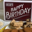 Happy Birthday Tin of Biscuit and Flapjack Treats