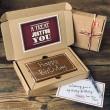 Birthday Large Letterbox Millionaire's Shortbread