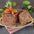 Handmade Damson Brandy Fruit Cake 500g
