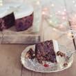 Handmade Iced Damson Brandy Round Fruit Cake (1kg)
