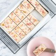 Raw Gluten Free Raw Rose Tart Tray (14 Slices)