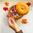 Halloween Chocolate Pumpkin