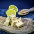 Handcrafted Selection of White Chocolate Fudge (Pack of 4)