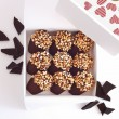 Dark Chocolate Cakes for Valentine's Day