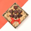 Valentine Belgian Chocolate Marshmallow Lolly Bouquet