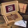 Letterbox Thank You Millionaire Shortbread