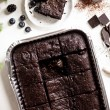 Chocolate Brownie Sharer- serves 12 - 16 ( Gluten and refined sugar free)