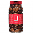 Rita Farhi Milk and Plain Chocolate Coated Brazil Nuts in a Gourmet Gift Jar