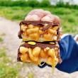 Premium Peanut Caramel Chocolate Bars | Refined Sugar Free (Box of 5)