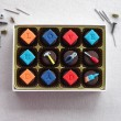 Tiny Toolkit - personalised chocolates decorated with little DIY tools
