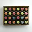 Rainbow Whales - Personalised Chocolates Rainbow Whales (Box of 24)