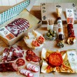 Spicy charcuterie letterbox