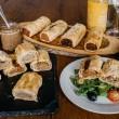 Gourmet Vegan/ Vegetarian Sausage Rolls