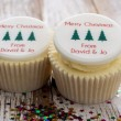 Christmas Tree Cupcake Decorations