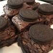 Oreo Fudge Brownies (Vegan) - Set of 6
