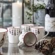 Mugs on a Christmas Table