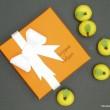 Handmade Green Marzipan Apples