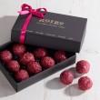 Raspberry Chocolate Truffles Box