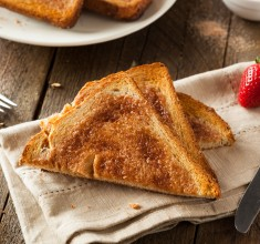 Healthy Cinnamon Toast