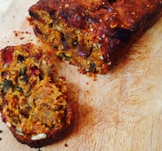 Superfood Carrot Cake Loaf