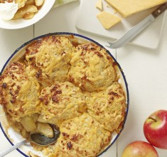Made in Shropshire: Appleby's Cheshire Cheese and Apple Cobbler