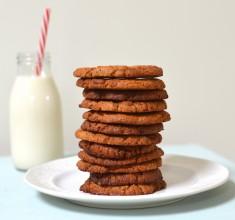 4 Ingredient Ginger Cookies