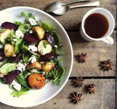Roasted Beetroot Winter Salad