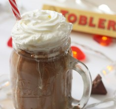 2 Minute Toblerone Hot Chocolate