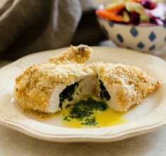 Easy Grain-Free Chicken Kiev