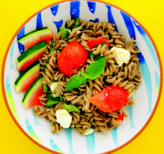 Superbly Summery Watermelon and Feta Pasta Salad