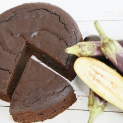 Chocolate Torte with Aubergine