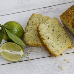 Lime Drizzle Cake with Courgette