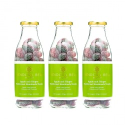 Apple & Ginger Natural Handmade Sweets - 3 bottles