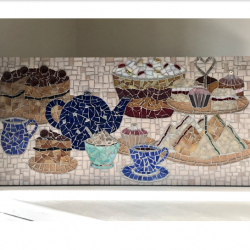 Time For Tea Mosaic Picture