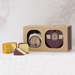 Godminster Cheddar and Oak-Smoked Combo - Heart