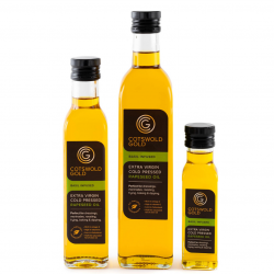 Cotswold Gold Basil Infused Rapeseed Oil