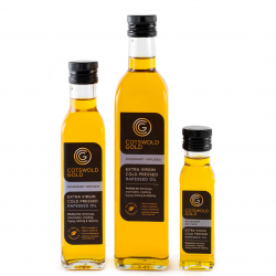 Cotswold Gold Rosemary Infused Rapeseed Oil