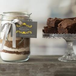 Large Vegan & Gluten Free Brownie Mix Jar