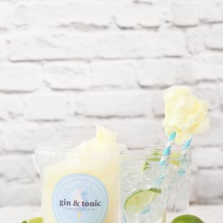 Gin & Tonic Candy Floss