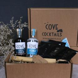 Devon Cove Cocktails Espresso Martini Kit in box