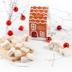 Gourmet Marshmallow Gingerbread House
