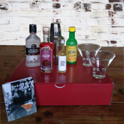 cocktail in a box - Chrits,as Cosmopolitan (serves 4)