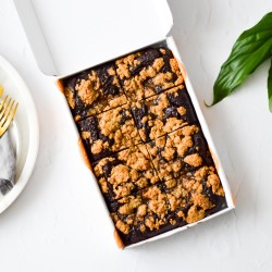 Cookie Caramel Avocado Brownies | Vegan & Refined Sugar Free (Box of 8)
