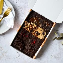 Mix Brownies | Vegan & Refined Sugar Free (Box of 8)