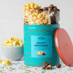 Happy Birthday Gourmet Popcorn Gifting Tin